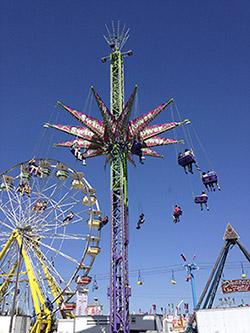 Fairground rides Canada Toronto