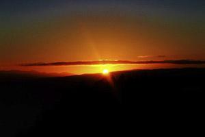 sunrise Wellington, New Zealand