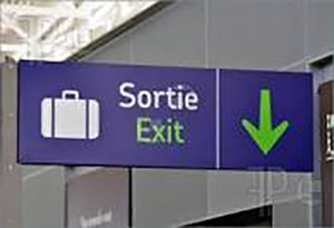french-exit-sign