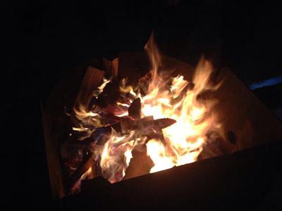 a-camp-fire