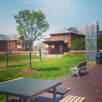 humber-college-campus-in-the-spring