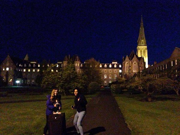 Maynooth University - Jessica Tomlinson - Maynooth At Night