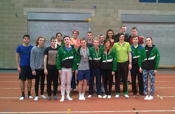 Trampoline crew Maynooth University