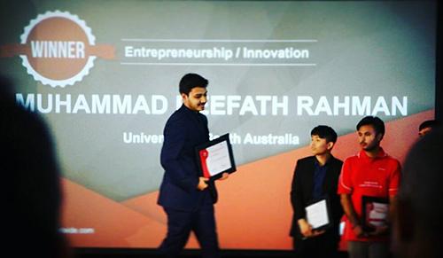 Muhamamd-Reefath StudyAdeladie Award Winner