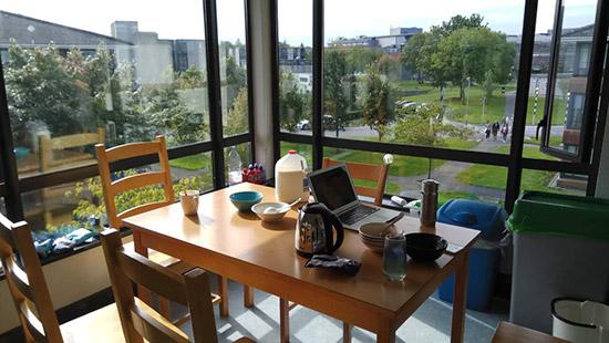 YufeiHuo 5 -campus
