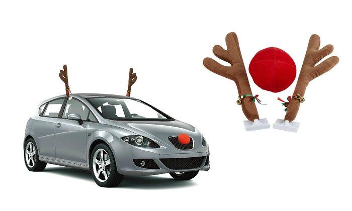 Reindeer Car acessory Source Groupon