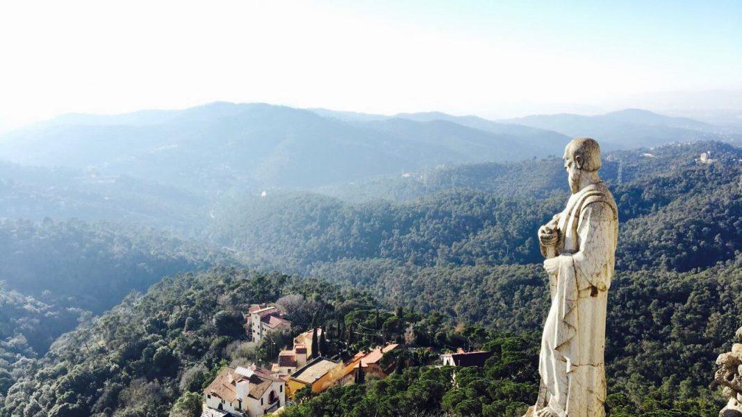 View from Mount Tibidabo december blog