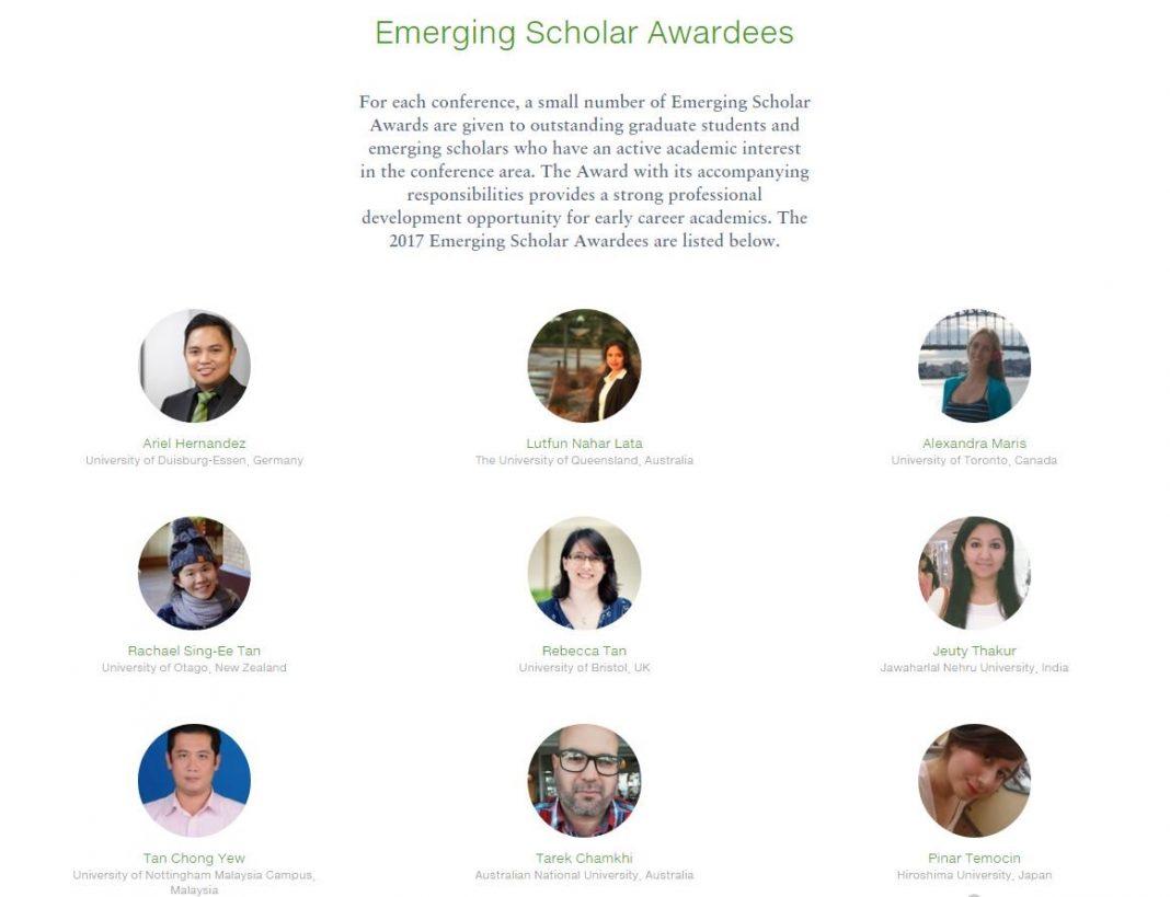 Emerging Scholar global research NUS