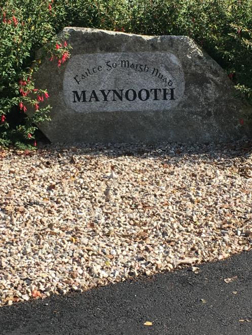 Stone at Maynooth University