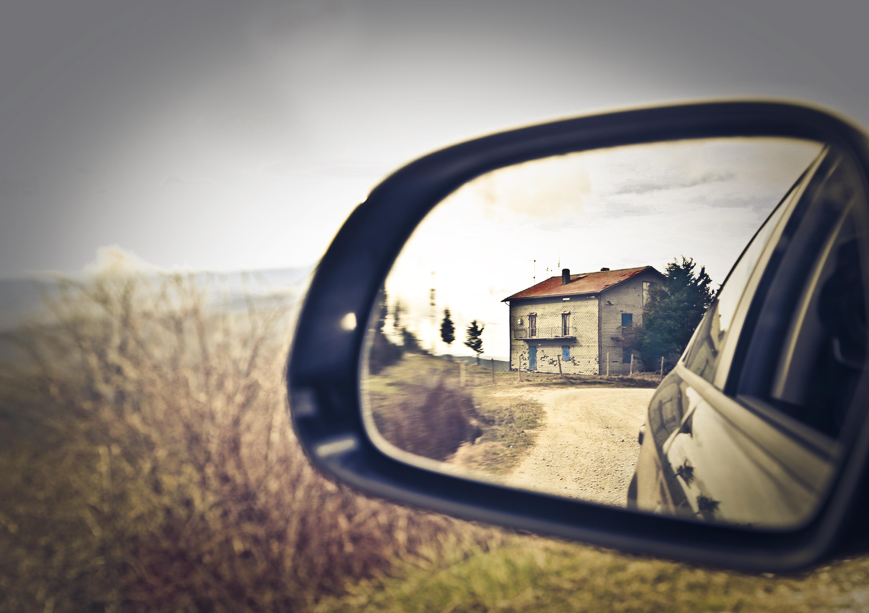 Rearview window